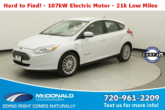 Pre-Owned 2014 Ford Focus Electric Base