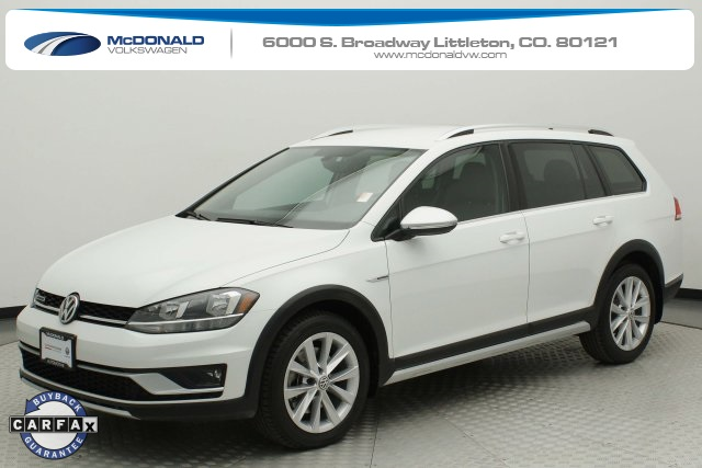 Certified Pre-Owned 2018 Volkswagen Golf Alltrack TSI S