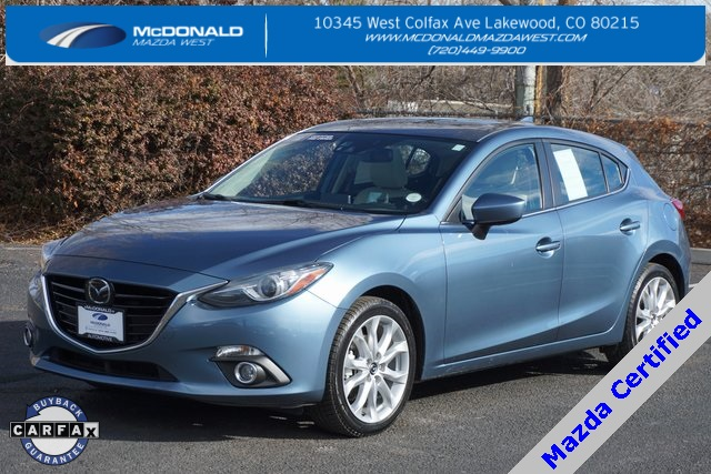 Certified Pre Owned 2016 Mazda3 S Grand Touring