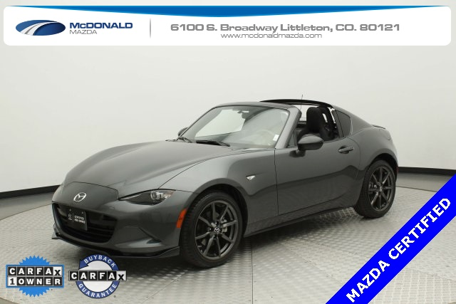 Certified Pre-Owned 2018 Mazda Miata RF Club with Appearance Package