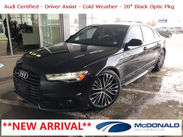 Certified Pre-Owned 2017 Audi A6 3.0T Premium Plus