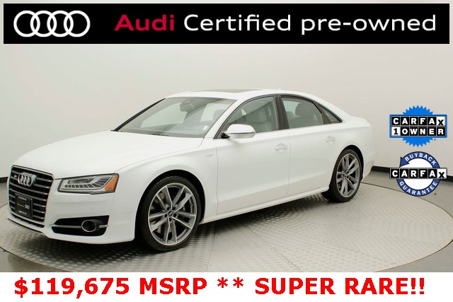 Certified Pre-Owned 2018 Audi S8 4.0T