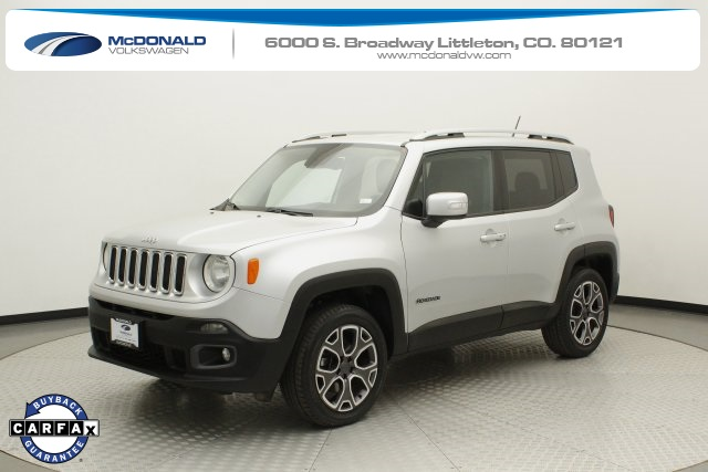Pre-Owned 2015 Jeep Renegade Limited