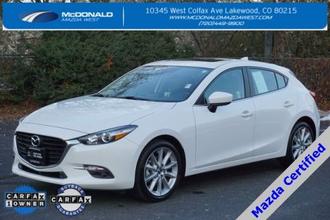 Certified Pre-Owned 2017 Mazda3 Grand Touring Base
