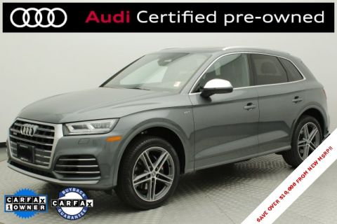 Certified Pre-Owned 2018 Audi SQ5 3.0T Premium Plus