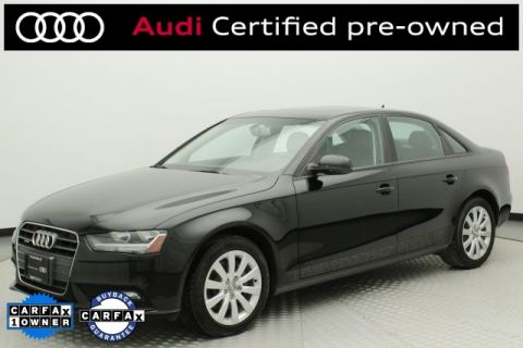 Certified Pre-Owned 2014 Audi A4 2.0T Premium
