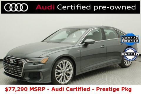Certified Pre-Owned 2019 Audi A6 3.0